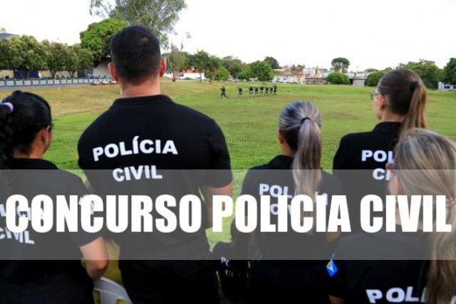 Concurso Polícia Civil 2021
