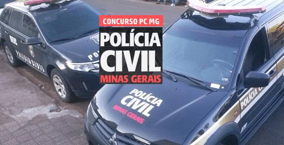 Concurso Polícia Civil MG 2021