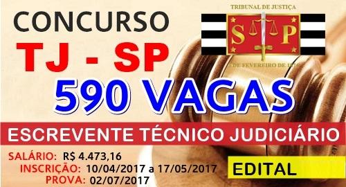 Edital Concurso TJ SP