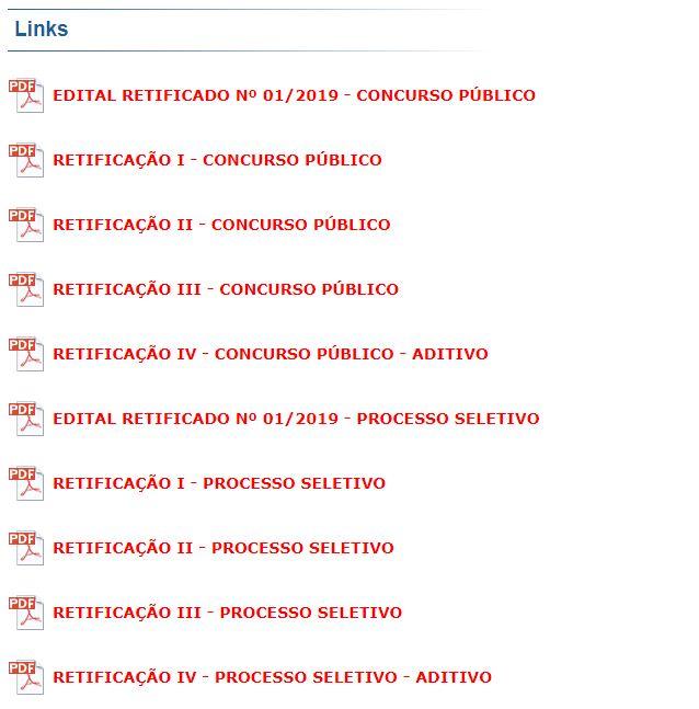 Editais PCI Concursos
