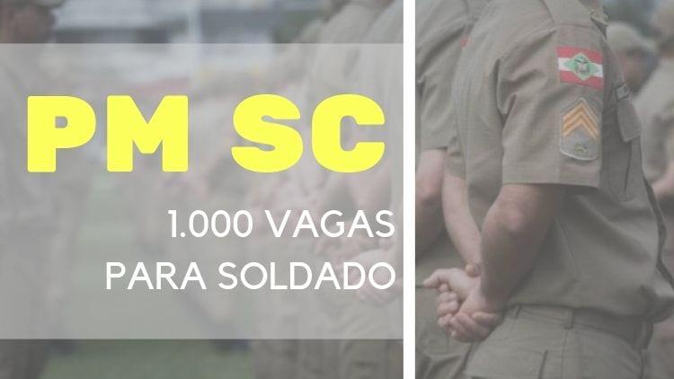 Edital Concurso PM SC